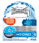 Wilkinson Sword Hydro 3 razor with blades