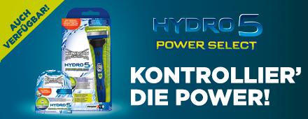 Entdecke den Hydro 5 Power Select