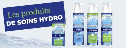 Les produits de soins Hydro