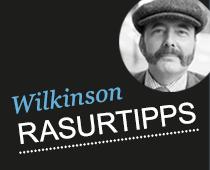 Rasurtipps von Wilkinson Sword